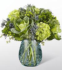Le bouquet Ocean's Allure™ Luxury - VASE INCLUS