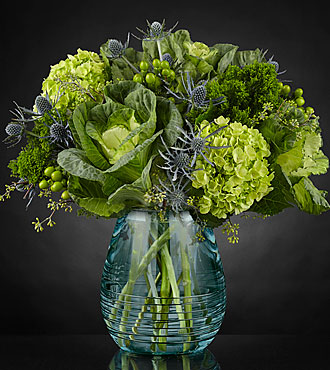 Le bouquet Ocean's Allure™ Luxury de FTD® - VASE INCLUS