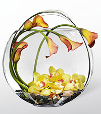 Le bouquet Circling the Sun™ Luxury de FTD® - VASE INCLUS
