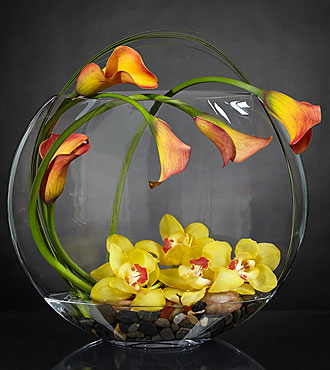 The FTD® Circling the Sun™ Luxury Bouquet - VASE INCLUDED