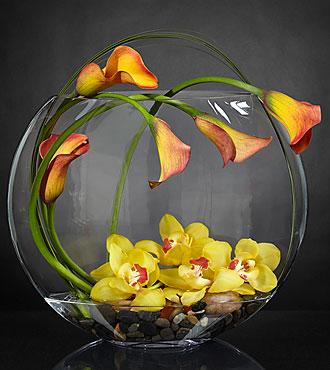 Le bouquet Circling the Sun™ Luxury de FTD® - VASE INCLUS