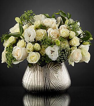Garden Glamour Luxury Bouquet by Interflora™ - VASE INCLUDED