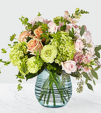 Le bouquet de luxe Irreplaceable™ – VASE INCLUS