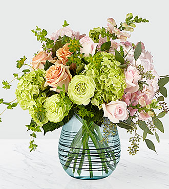 Le bouquet de luxe Irreplaceable™ de FTD® – VASE INCLUS