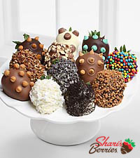Shari's Berries™ Limited Edition Chocolate Dipped Ultimate Toppings Strawberries