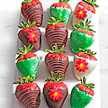 Shari's Berries™ Limited Edition Chocolate Dipped Jolly Holiday Strawberries