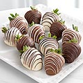 Chocolate Dip Delights™ Classic Real Chocolate Strawberries