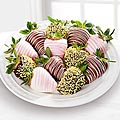 Chocolate Dip Delights™ Spring Sweets Real Chocolate Covered Strawberries