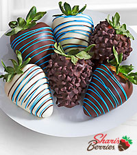 Chocolate Dipped Just for You Dad Father's Day Strawberries