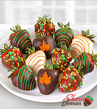 Chocolate Dip Delights™ Fall in Love with Fall Real Chocolate Covered Strawberries