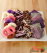 Shari's Berries™ Limited Edition Chocolate Dipped Love Valentine Combo