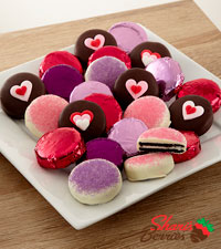 Shari's Berries™  Limited Edition Chocolate Dipped Happy Valentine's Oreo® Cookies