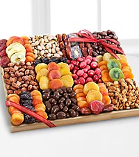 Season's Snacks Holiday Dried Fruit, Nuts & Sweets Snack Tray
