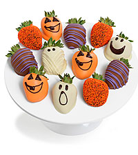 Halloween Belgian Chocolate Covered Strawberries