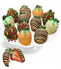 Fall Belgian Chocolate Covered Strawberries