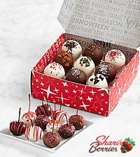 Christmas Cherries and Christmas Cake Truffles