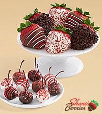 10 Christmas Cherries & Christmas Strawberries