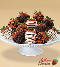 Gourmet Dipped Halloween Strawberries