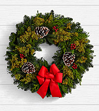 22 inch Deck the Halls Wreath