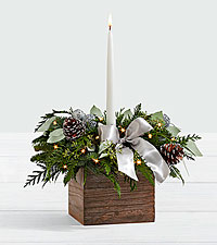 14 inch Holiday Eucalyptus Centerpiece