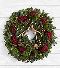 22' Holiday Glam Wreath
