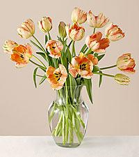 Mother's Day Tulip Bouquet + Vase