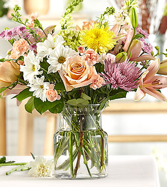 Dreamy Pastels – Bouquet original du fleuriste