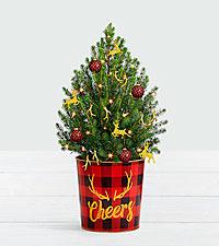 Holiday Glam Christmas Tree