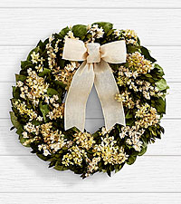 18' Sweetest Sentiments Wreath - Preserved