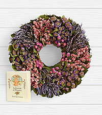 18' Herbal Sentiments Wreath with Keepsake Book