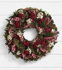 18' Rose Garden Wreath - Preserved