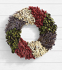 Colorful Herb Wreath