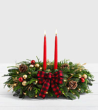 20' Holiday Glam Centerpiece with Lights