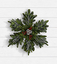 Frosted Fir Wreath