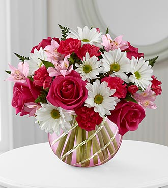 Perfect Blooms™ Bouquet - VASE INCLUDED