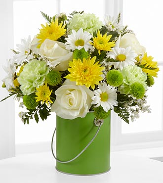 The Color Your Day With Joy™ Bouquet - VASE INCLUDED