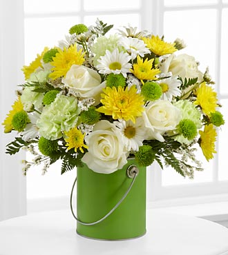 Le bouquet Color Your Day With Joy™ par FTD® - VASE INCLUS