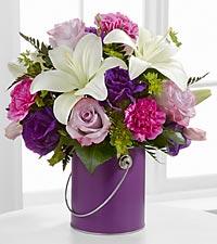 Le bouquet Color Your Day With Beauty™ par FTD® - VASE INCLUS