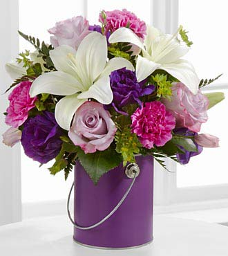 Le bouquet Color Your Day With Beauty™ par FTD® - VASE INCLUS