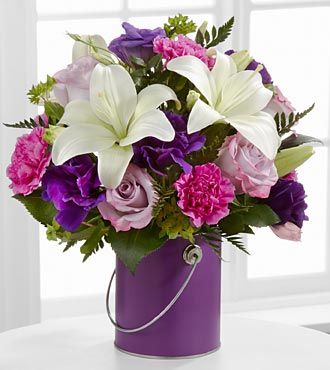 The Color Your Day With Beauty™ Bouquet - VASE INCLUDED