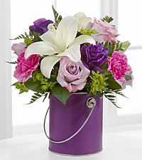 Le bouquet Color Your Day With Beauty™ - VASE INCLUS