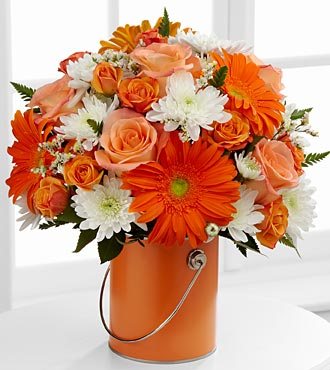 Le bouquet Color Your Day With Laughter™ par FTD® - VASE INCLUS