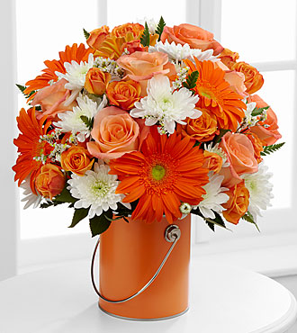 The Color Your Day With Laughter™ Bouquet by FTD® - VASE INCLUDED