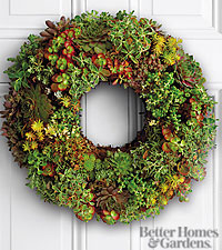 Better Homes and Gardens® Succulent Wreath
