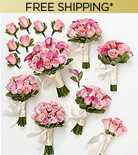 Perfect Pinks Wedding Package