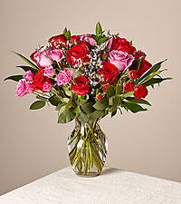 Head Over Heels Bouquet Deluxe With Vase