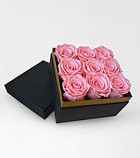 Lasting Luxury Roses™ Pink Preserved Roses by Luxe Bloom