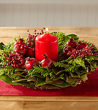 Hearts Aglow Holiday Centerpiece