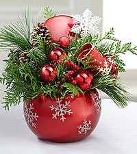 Fresh & Festive Holiday Arrangement