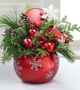 Fresh & Festive Holiday Arrangement
